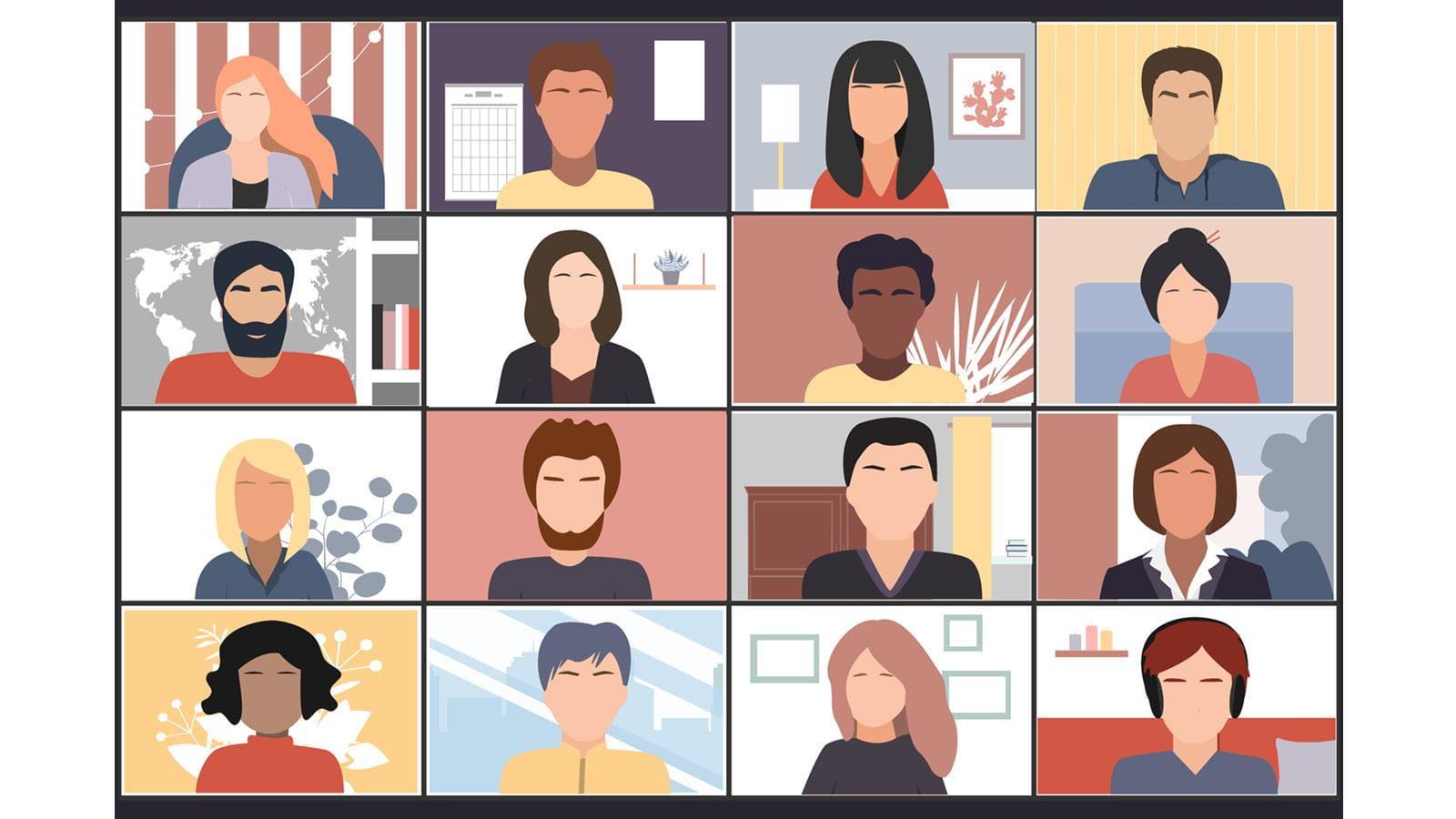 Virtuaalisen Rare Disease Dayn suunnittelua